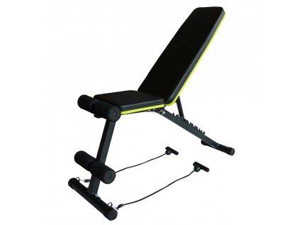 Multifunkční lavice sed-leh-bench plus s expandéry LIFEFIT