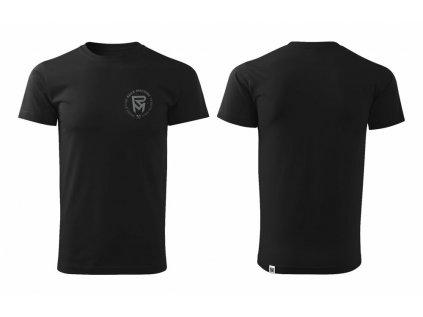 tričko ROCK MACHINE Build Local černé