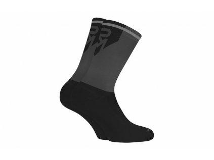 ponožky ROCK MACHINE Long černo/šedé