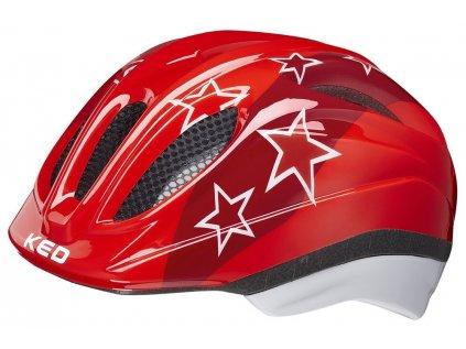 přilba KED Meggy Trend M red stars