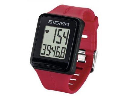 pulsmetr SIGMA ID.Go tmavě růžový