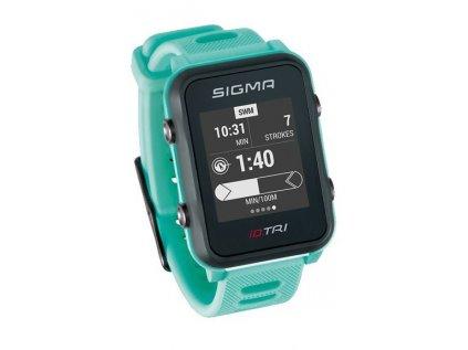 chytré hodinky SIGMA iD.TRI Basic mentolové