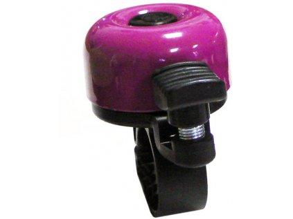 zvonek VELOBEL mini fialový