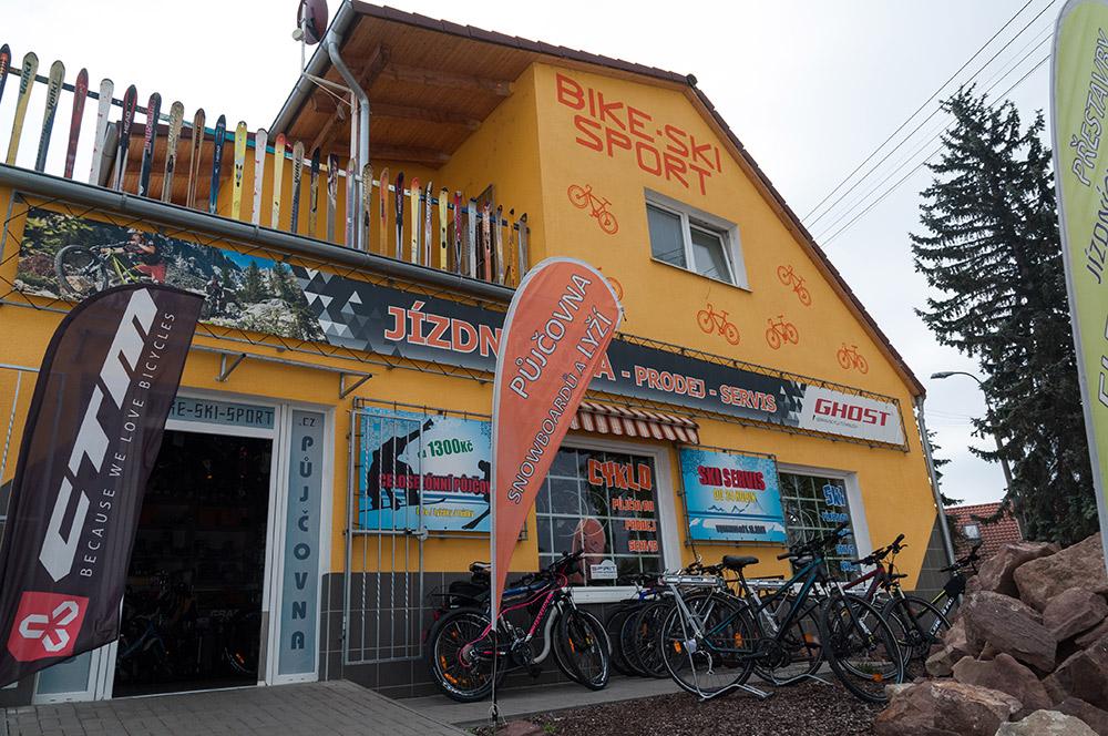 Spuštění nového webu a e-shopu Bike-ski-sport.cz