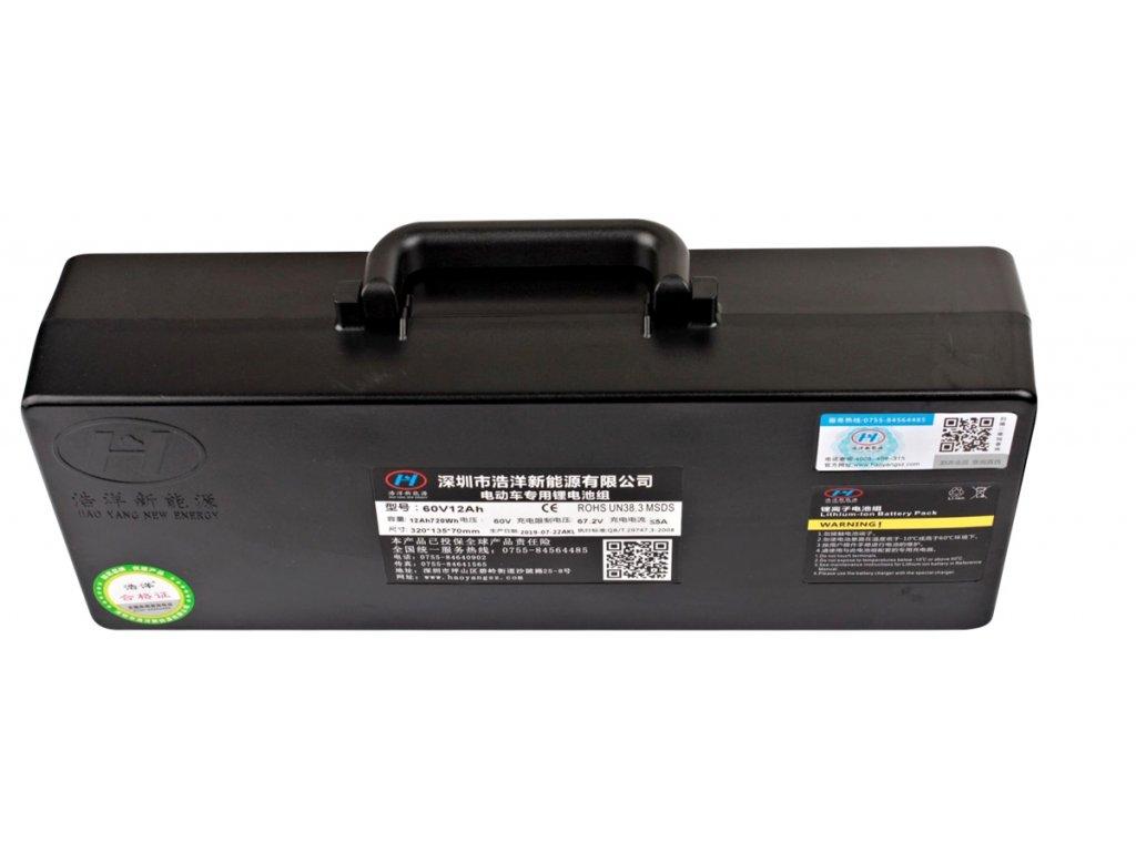 E choper podlahova baterie 60v