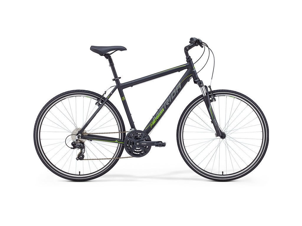 Merida CROSSWAY 15 V matt Black (Green:Grey)