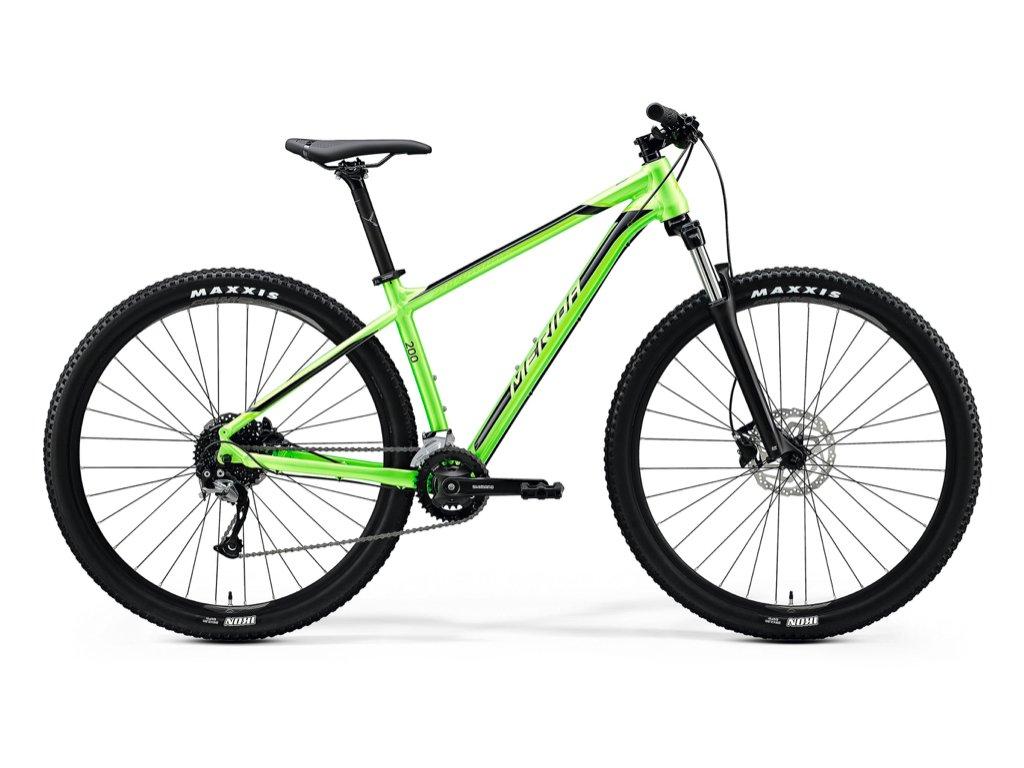 MERIDA BIG.NINE 200 Glossy Green (Black) 1