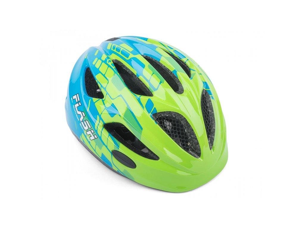 AUTHOR helma Flash LED Inmold zelená:modrá