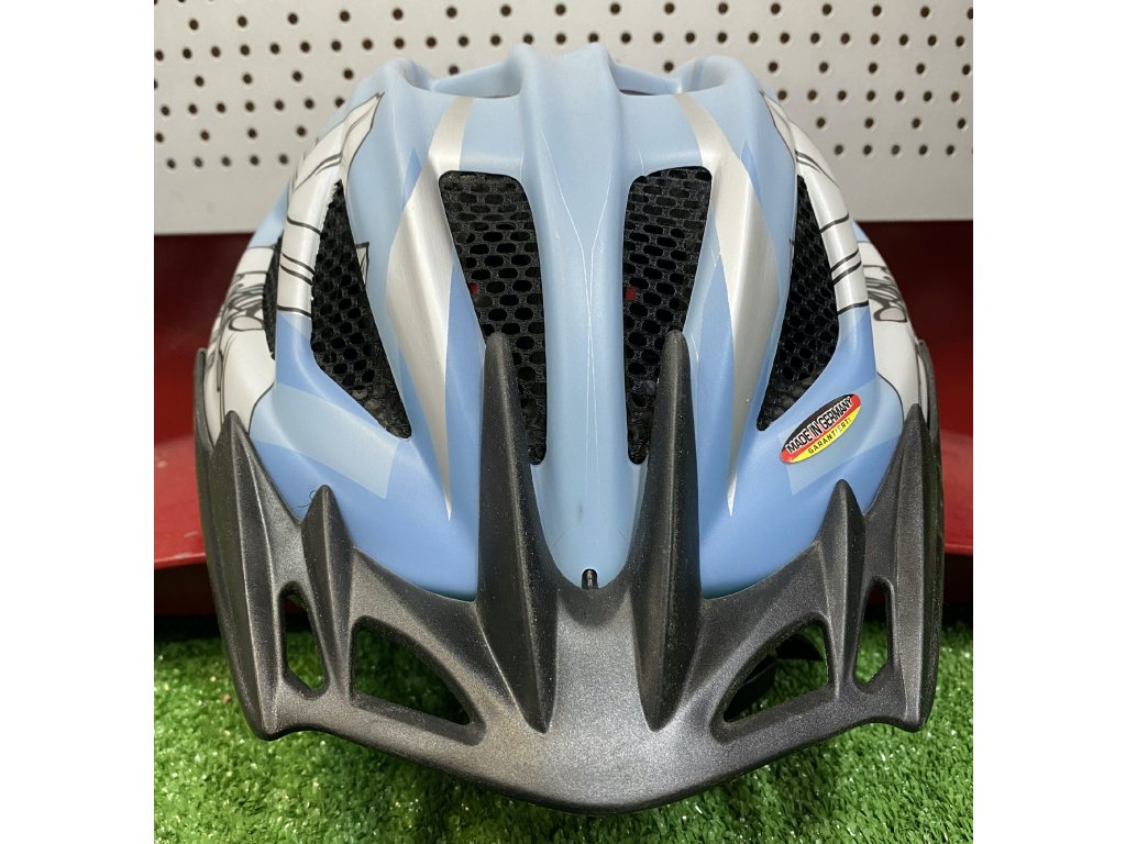 KED helma 12 VS L světle modré kytky 1