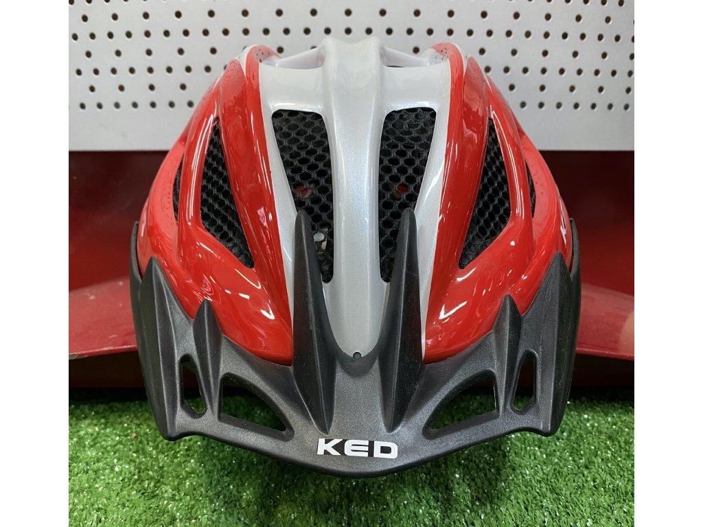 KED helma 16 VS L červená perleť 1