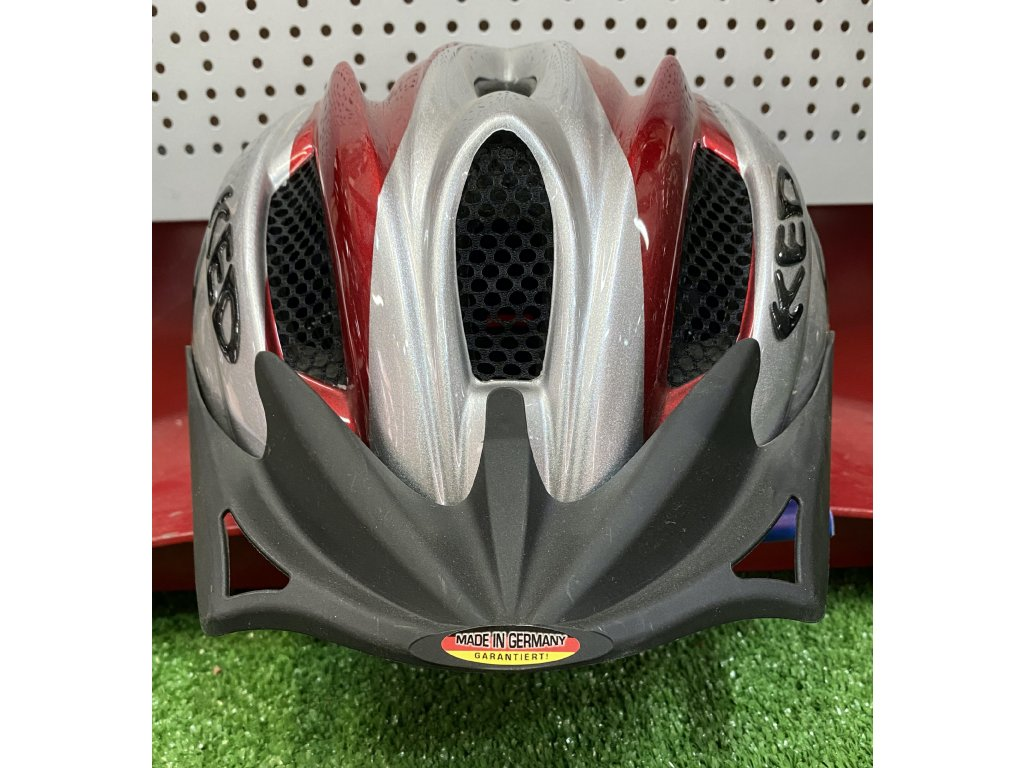 KED helma FLITZI M červená 1