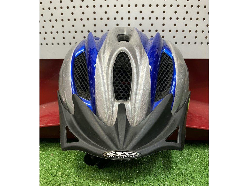 KED helma FLITZI M modrá 1