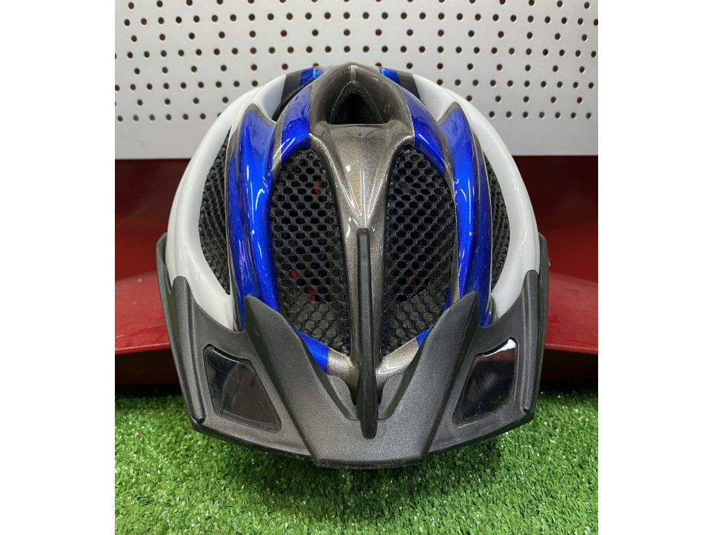 KED helma SPIRI M modrá:perleť 1