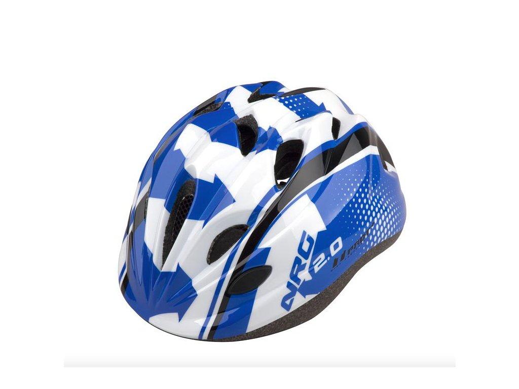 PRO T helma TOLEDO modro bílo černá S (48 52cm)