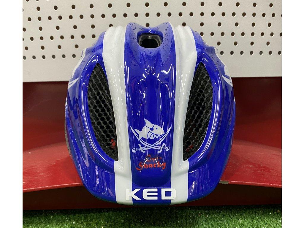 KED helma Meggy Originals XS Sharky blue 1