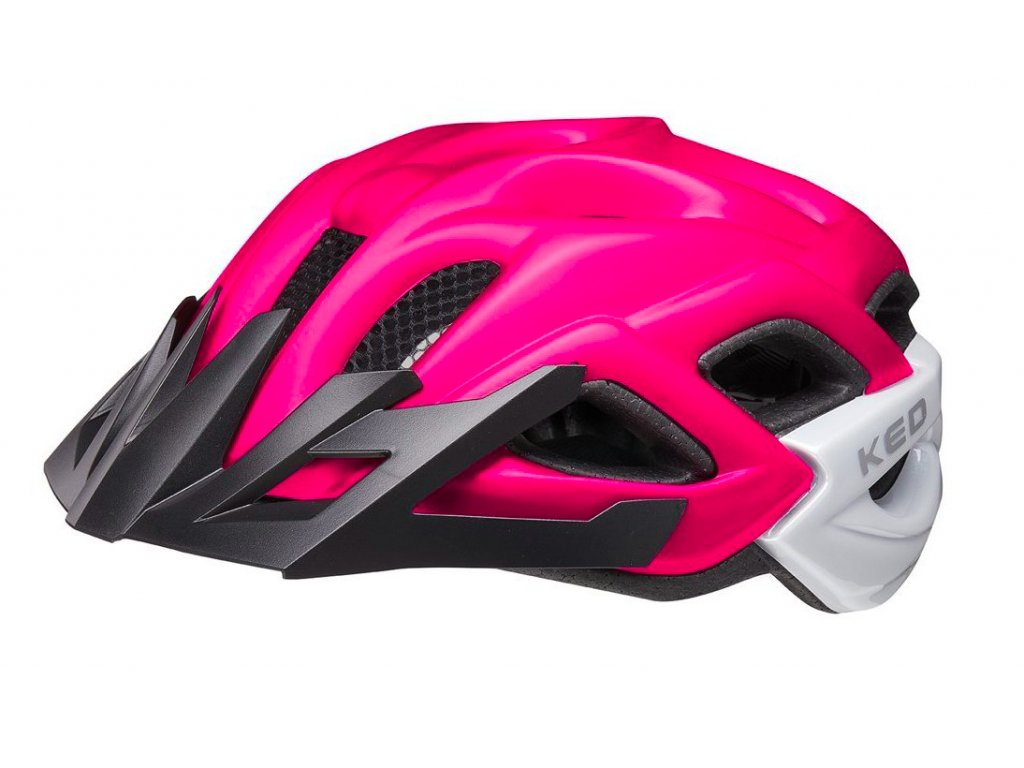 KED helma Status Junior pink purple matt