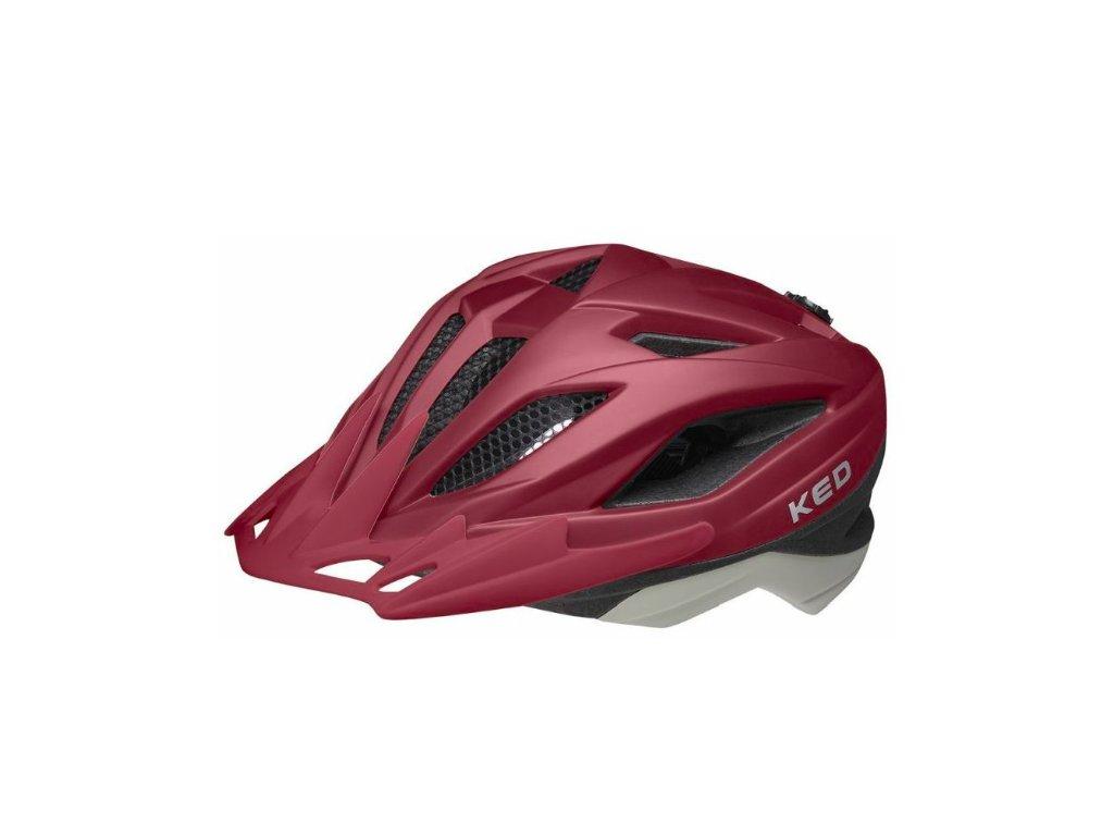 KED helma Street Junior Pro merlot