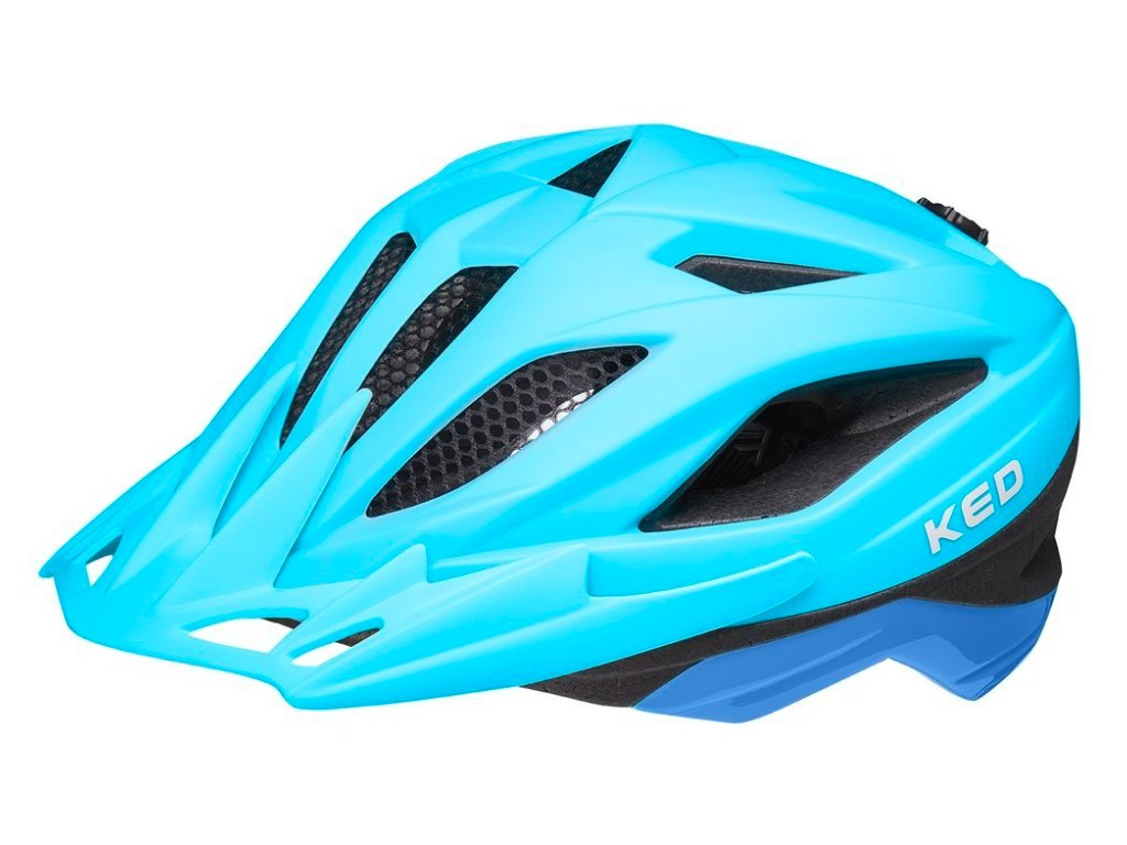 KED helma Street Junior Pro blue matt