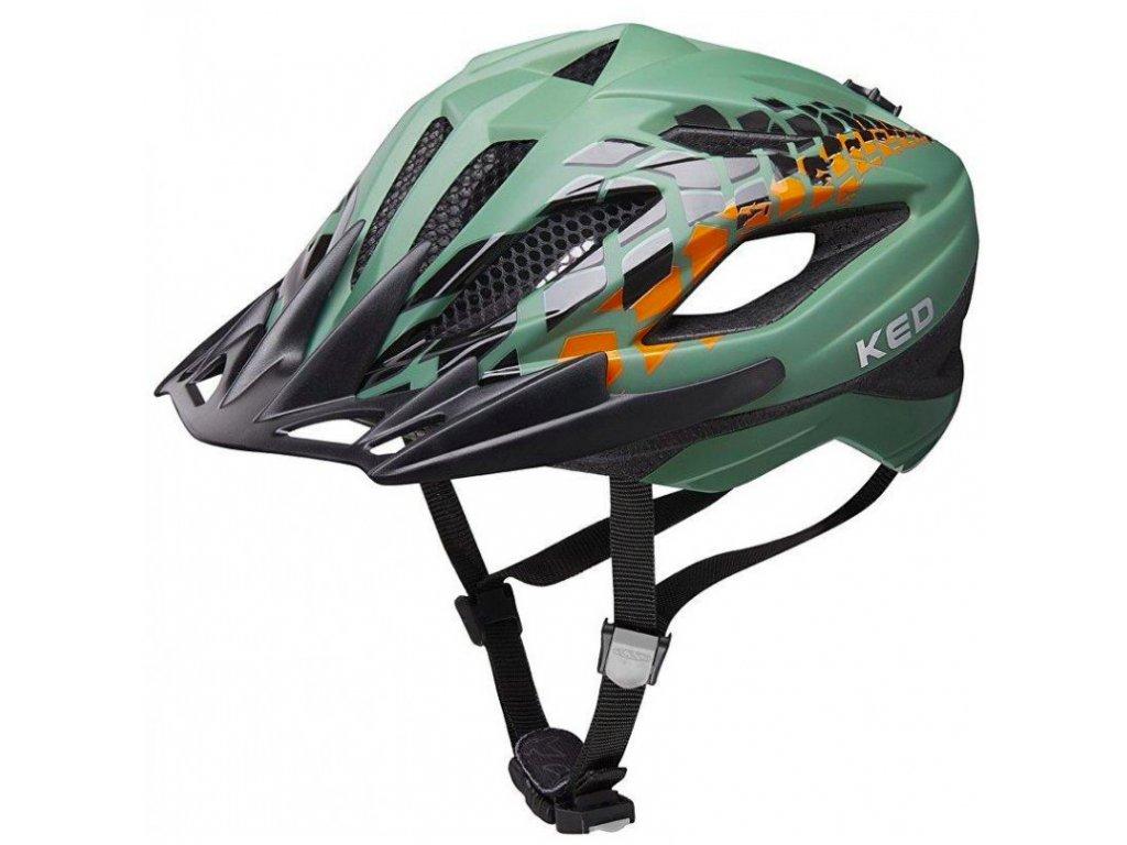 KED helma Street Junior Pro olive 1