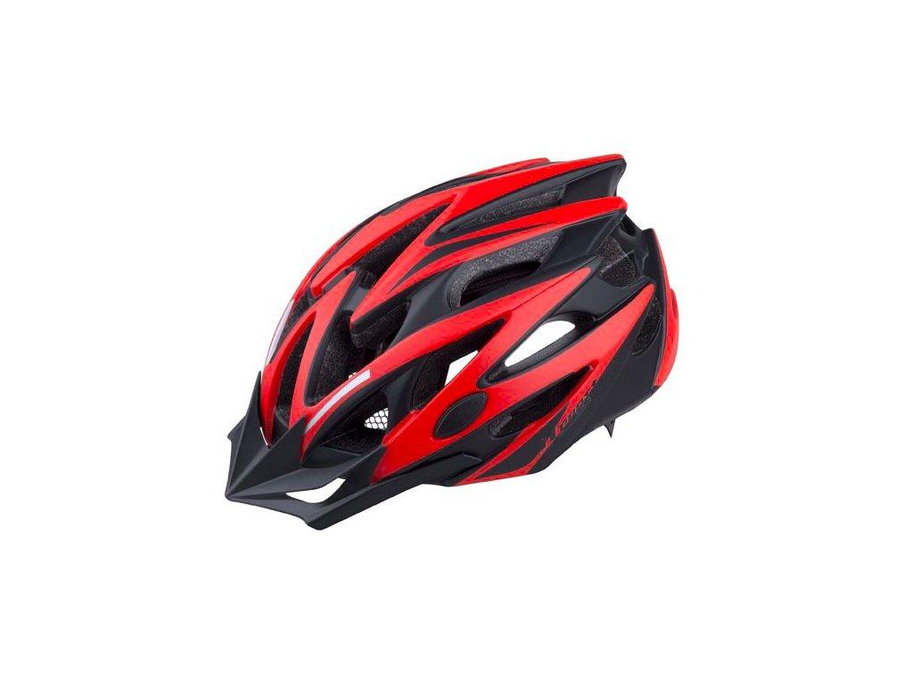 PRO T helma TARIFA černá červená matná 1