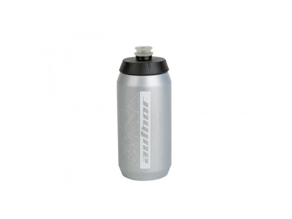 AUTHOR Láhev AB Flash X9 550 ml stříbrná:bílá