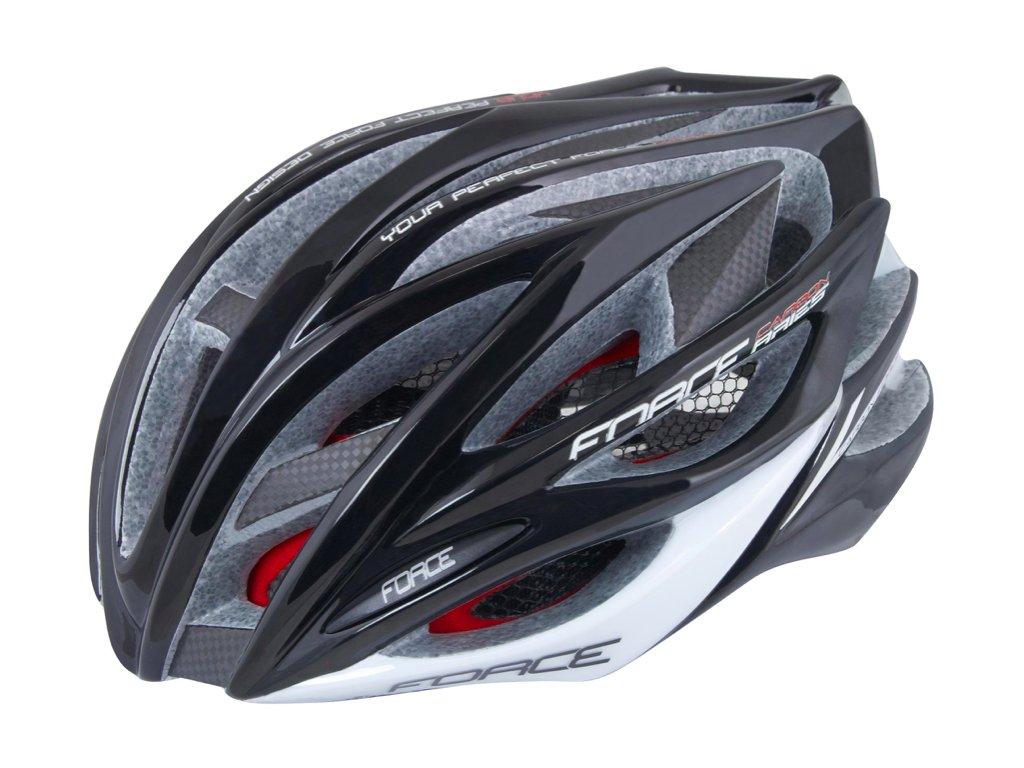 FORCE helma ARIES karbon černo šedá 1