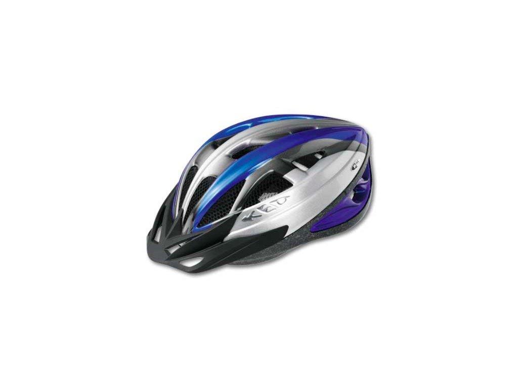 KED helma VS M modro:stříbrná