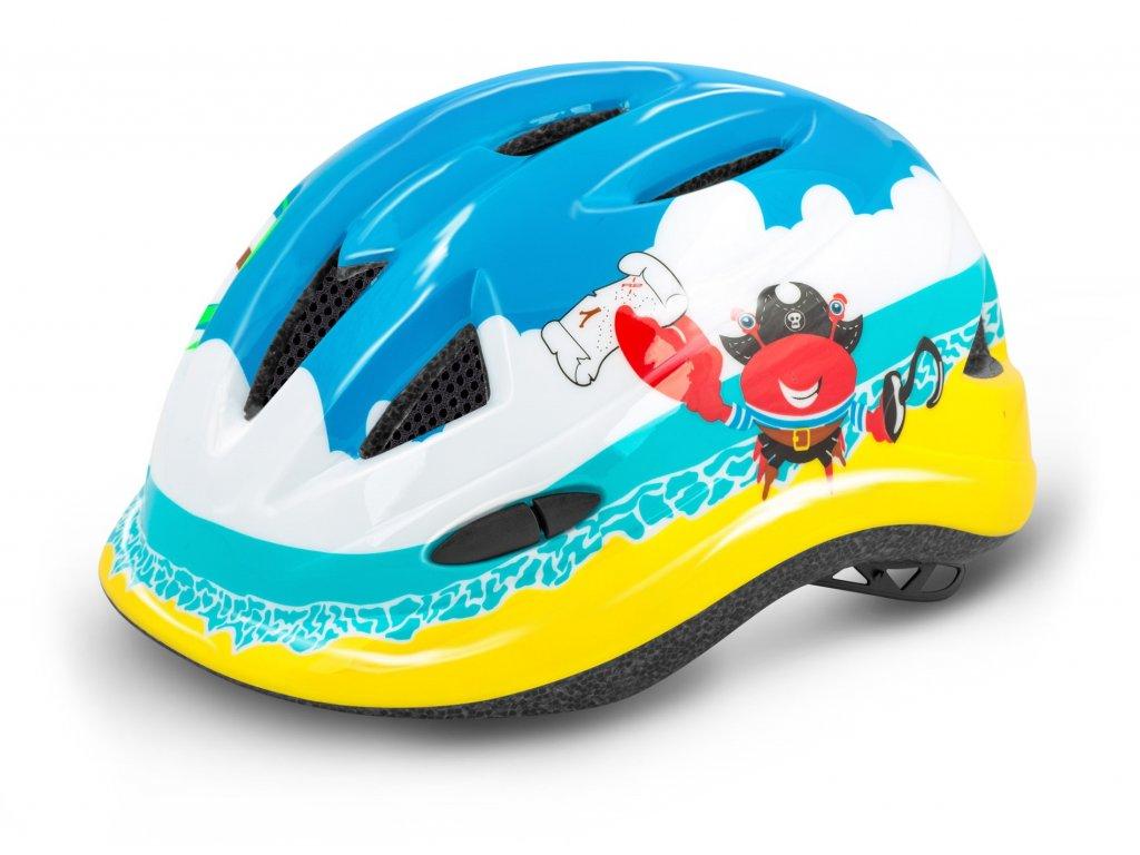 R2 helma LUCKY modrá