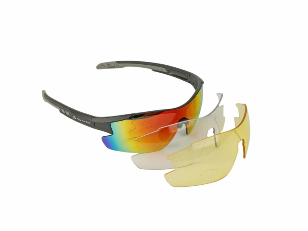AUTHOR brýle VISION LX (šedá matná) 1