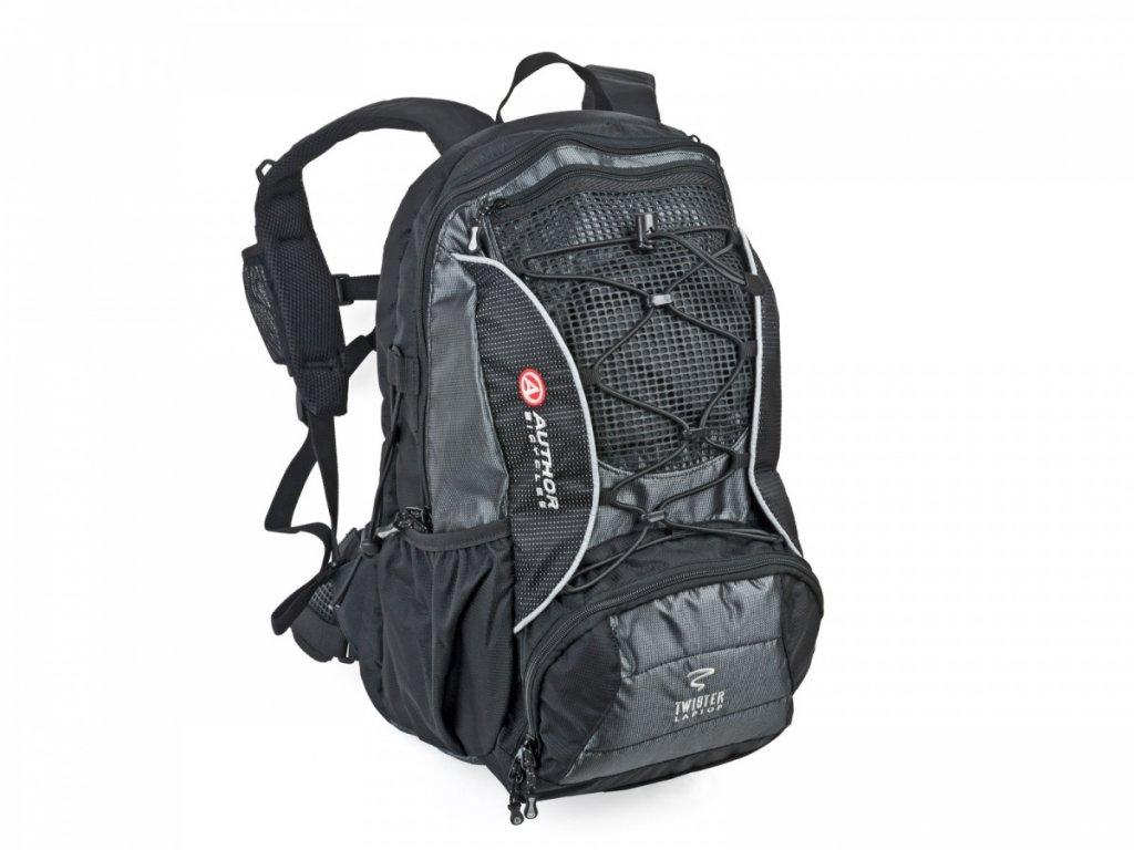 AUTHOR batoh A B Tvister Laptop (černá:šedá) 1