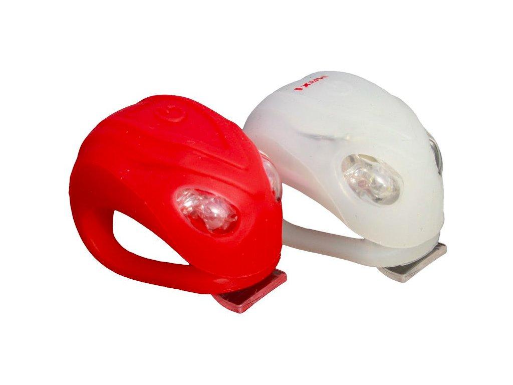 MAX1 blikačka ALIEN 2 LED 2ks, P + Z bílá:červená
