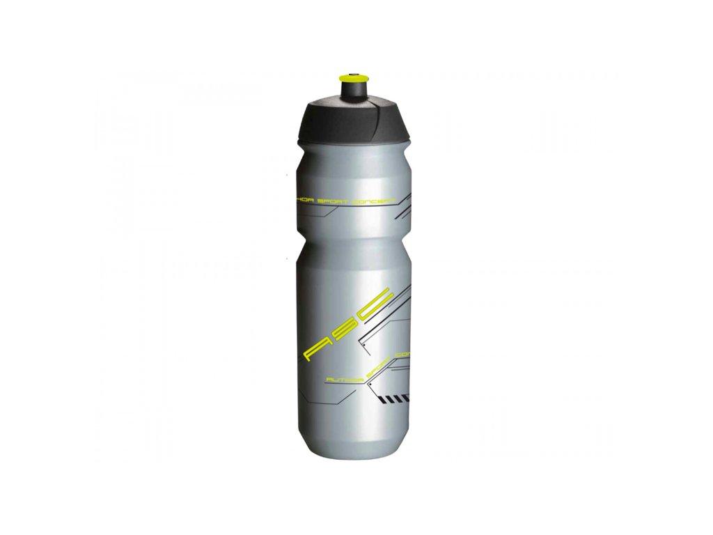 AUTHOR láhev AB Tcx Shiva X9 850 ml stříbrná:žlutá neon