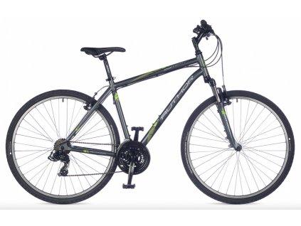 AUTHOR Compact šedá matná:zelená