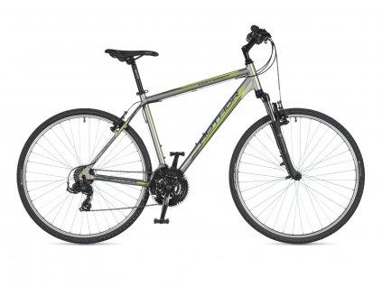 AUTHOR Compact stříbrná:zelená:černá 1