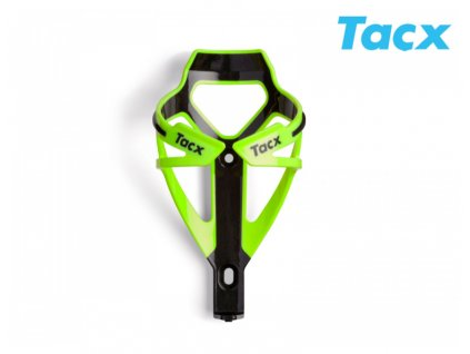 Košík TACX Deva (zelená neonová:karbon)