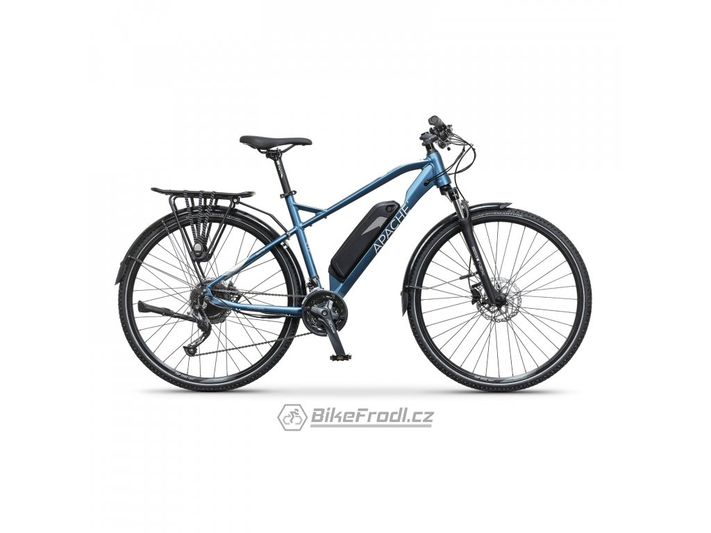 APACHE Matto Tour E4 metal blue, vel. 21""