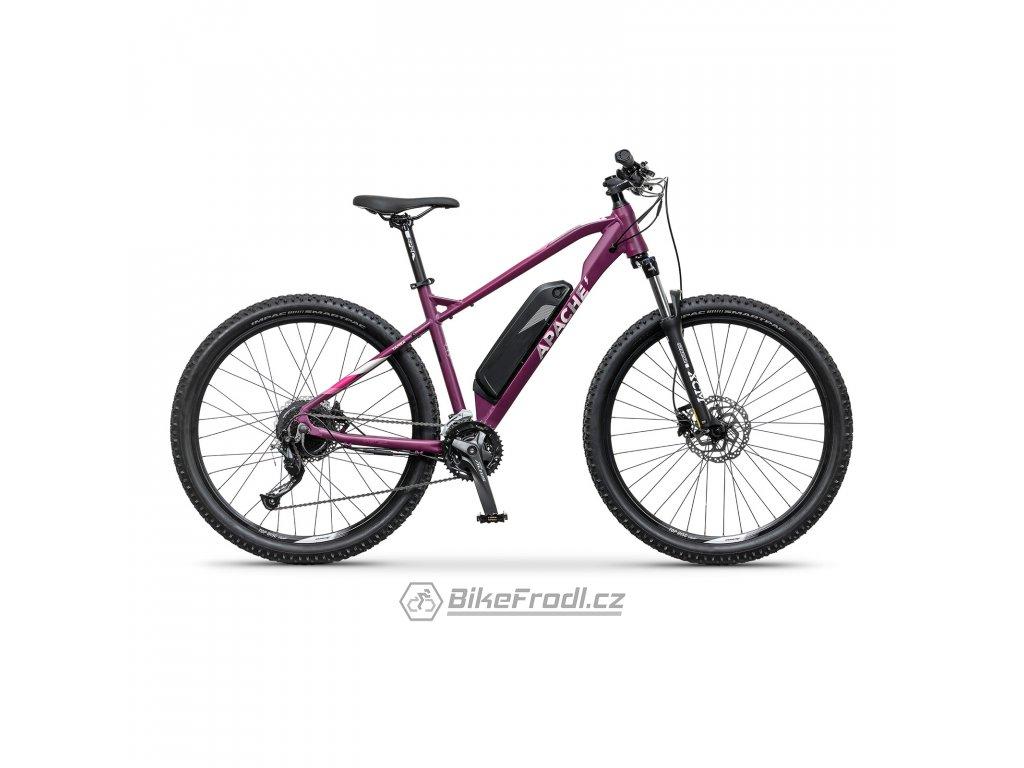 "APACHE Yamka E4 ruby purple, vel. 18"""