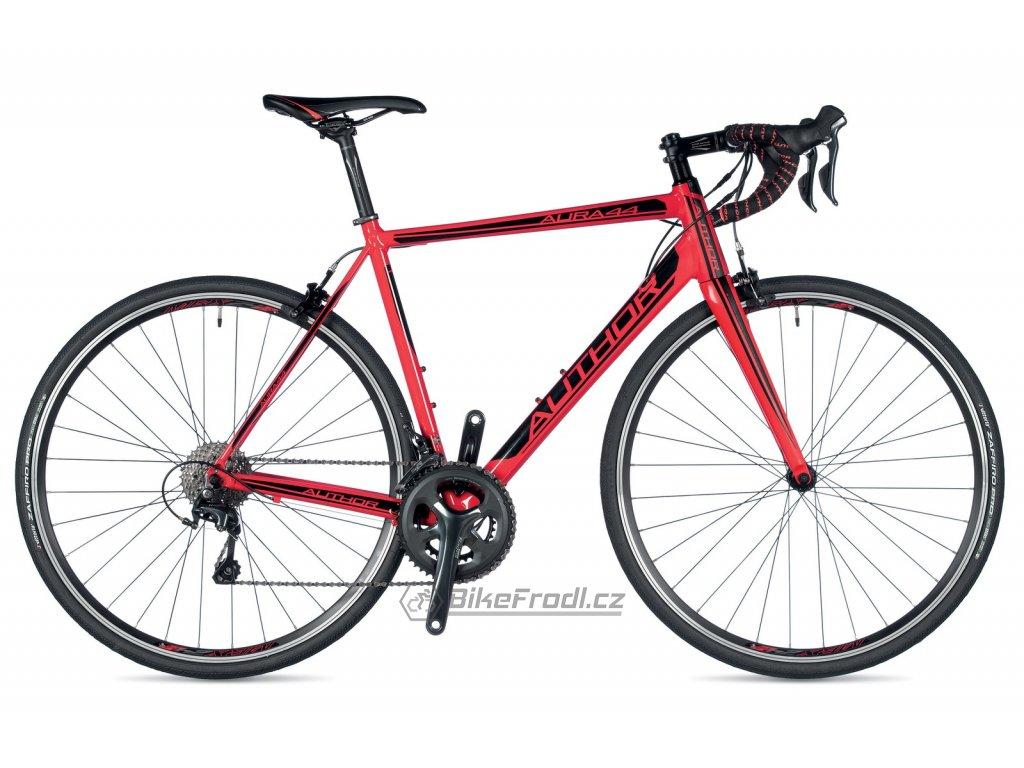 AUTHOR Aura 44 červená/černá, vel. 48 cm