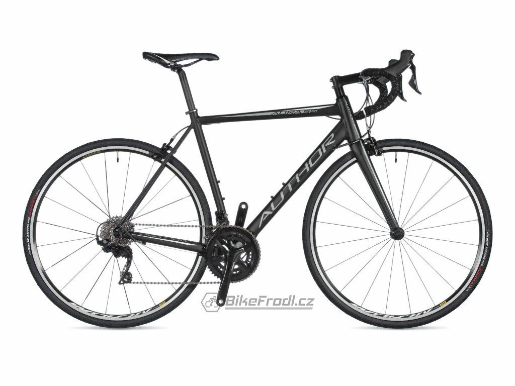 AUTHOR Aura 55 černá/stříbrná, vel. 56 cm