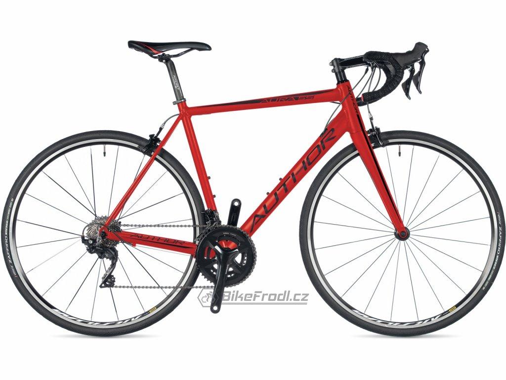 AUTHOR Aura 55 červená, vel. 52 cm