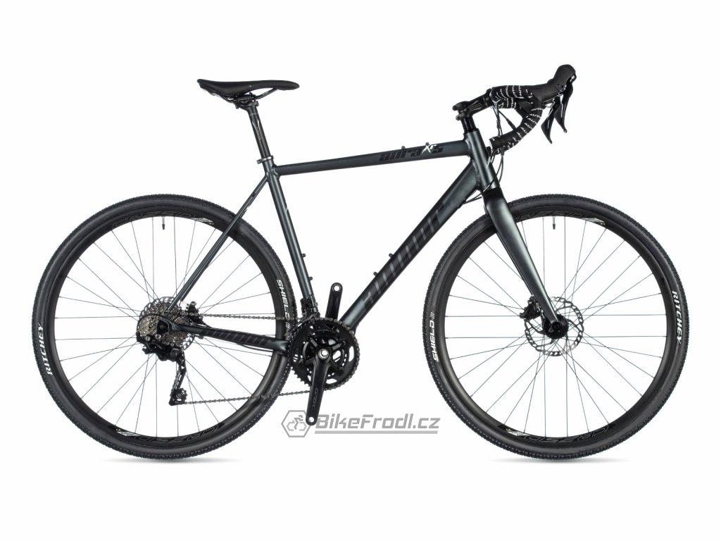 AUTHOR Aura XR5 šedá-matná/bílá, vel. 58 cm