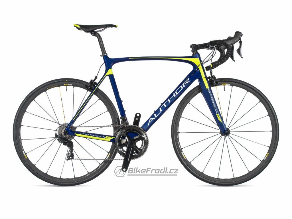 AUTHOR Charisma 77 modrá/žlutá-neon, vel. 52 cm