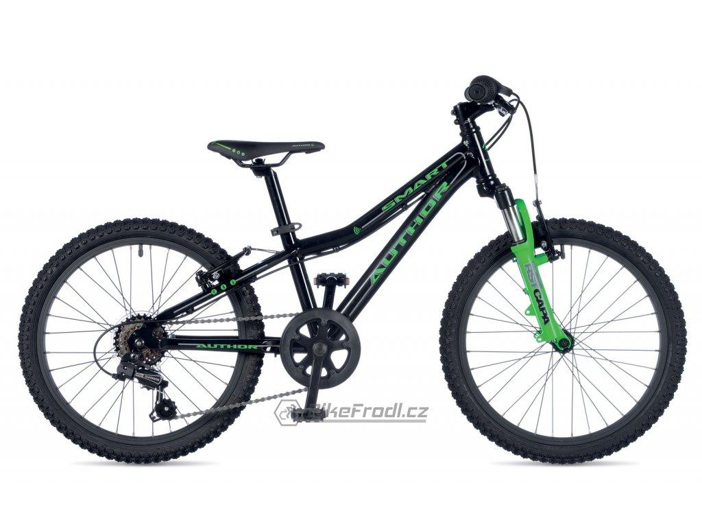 AUTHOR Smart 20 černá/zelená-neon