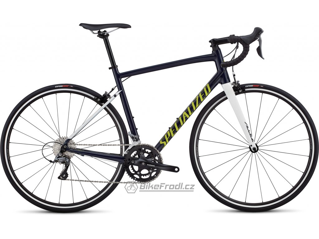 SPECIALIZED Allez Gloss Cast Blue/Metallic White Silver/Limon, vel. 58 cm