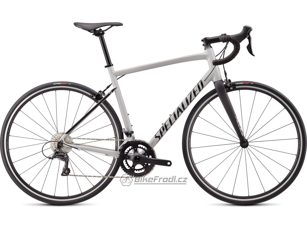 SPECIALIZED Allez Sport Gloss/Satin Dove Grey/Black, vel. 52 cm