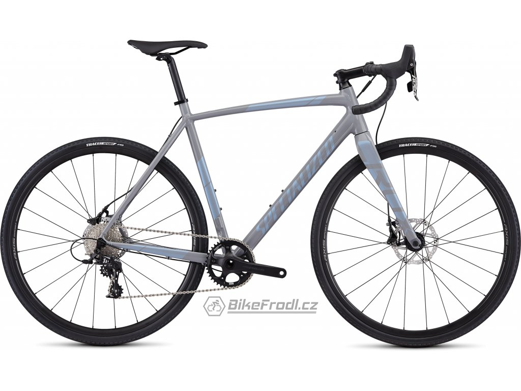 SPECIALIZED CruX E5 Sport Gloss Cool Grey/Blue Ghost Pearl, vel. 54 cm