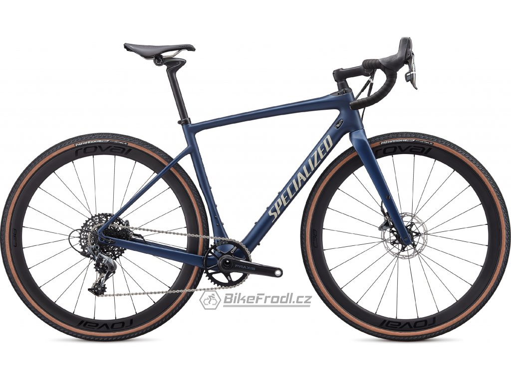 SPECIALIZED Diverge Expert Satin Navy/White Mountains Clean, vel. 48 cm