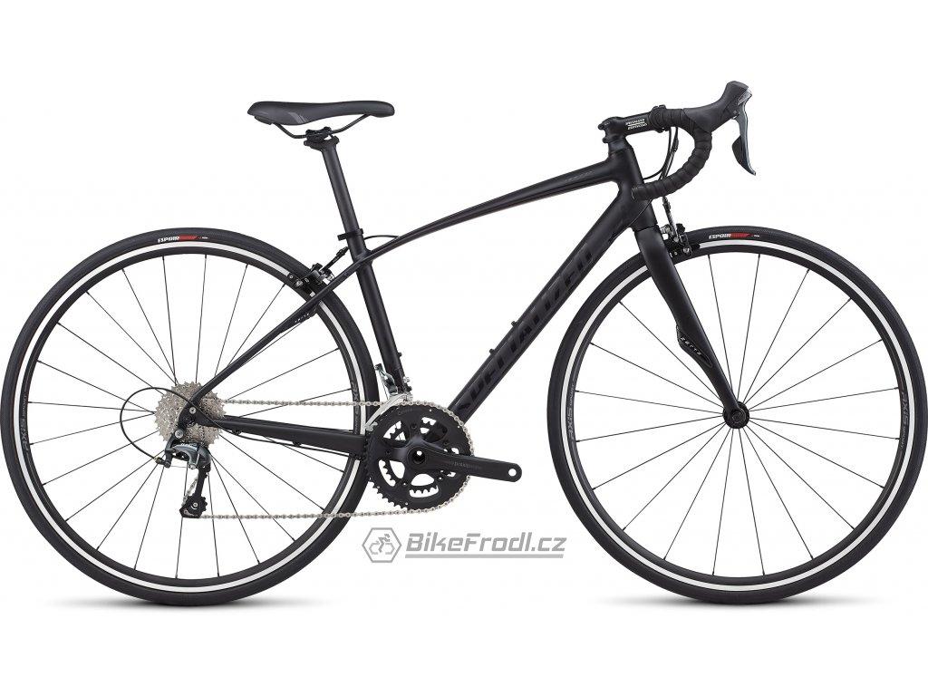 SPECIALIZED Dolce Elite E5 Satin Tarmac Black/Gloss Black, vel. 51 cm