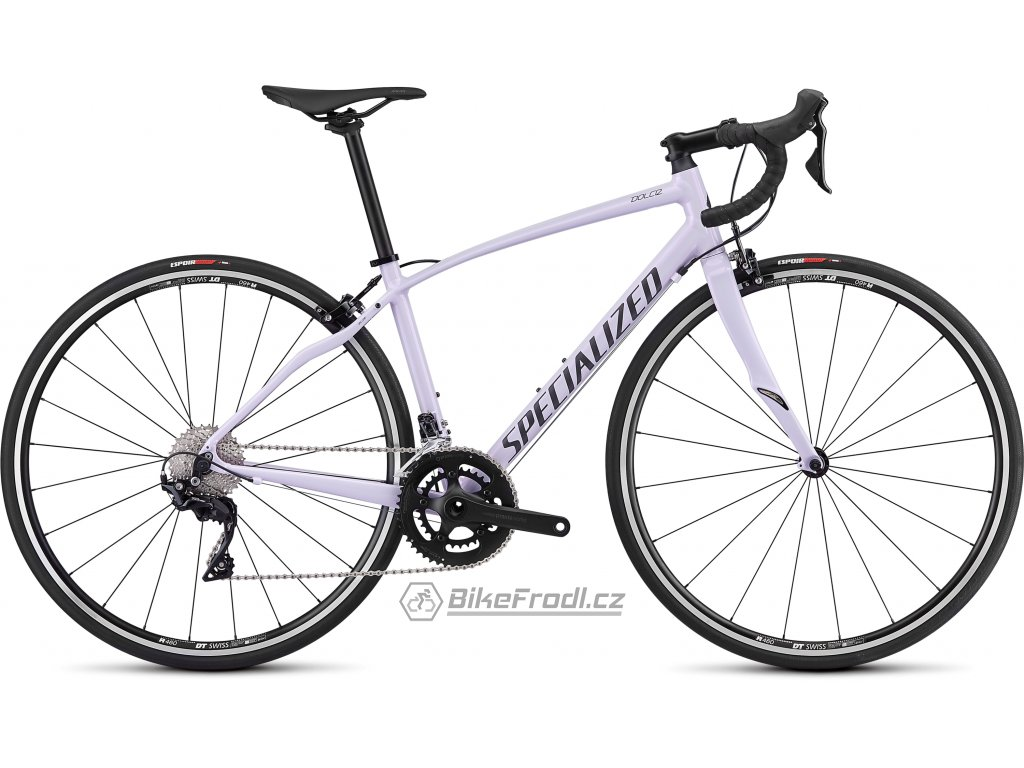SPECIALIZED Dolce Elite Uv Lilac/Black/Reflective/Clean, vel. 54 cm