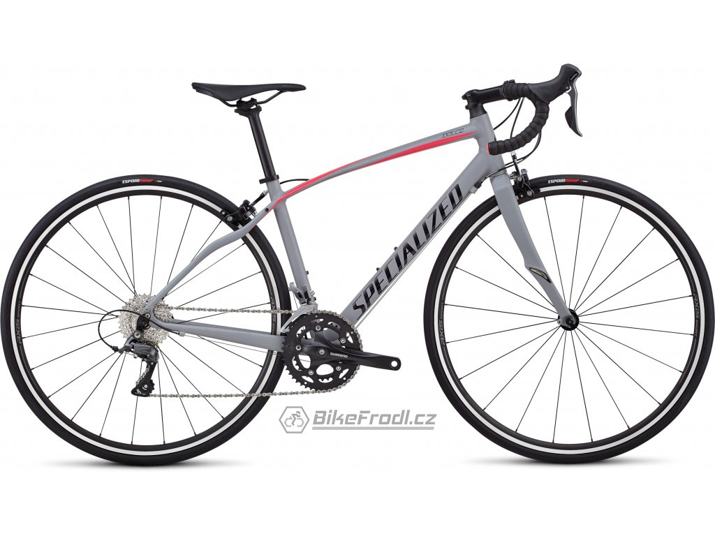 SPECIALIZED Dolce Satin/Gloss/Cool Gray/Acid Pink, vel. 54 cm
